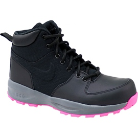 Scarpe Nike Manoa Lth Gs W 859412-006 nero