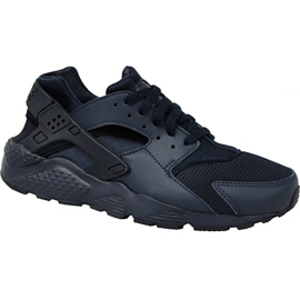 Scarpe Nike Huarache Run Gs W 654275-403 nero