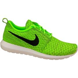 Scarpe Nike Roshe Nm Flyknit M 677243-700 verde