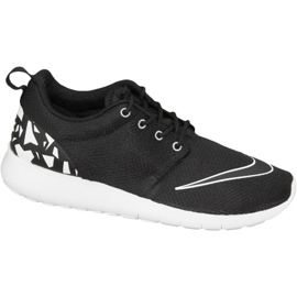 Scarpe Nike Roshe One Fb Gs W 810513-001 nero