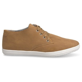 Sneakers alte 3232 cammello alla moda marrone