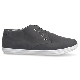 Sneakers alte alla moda 3232 grigie grigio