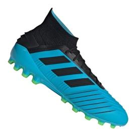 Scarpe da calcio Adidas Predator 19.1 Ag M F99970 blu blu