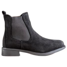 Ideal Shoes Stivali casual Jodhpur nero