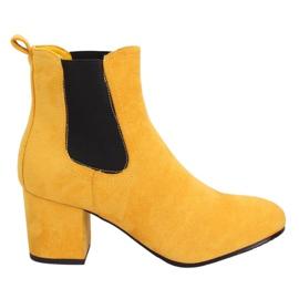 Stivali Jodhpur gialli giallo 2208-132 Giallo
