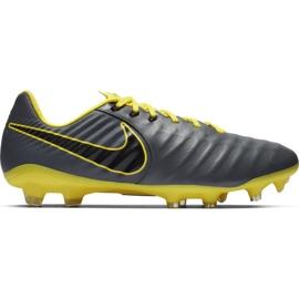 Scarpe da calcio Nike Tiempo Legend 7 Pro Fg M AH7241 070 grigio