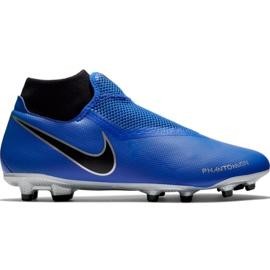 Scarpe da calcio Nike Phantom Vsn Academy Df FG / MG M AO3258 400 blu