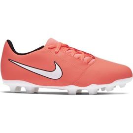Scarpe da calcio Nike Phantom Venom Club Fg Jr AO0396-810 arancione arancione