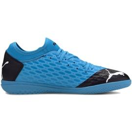 Scarpe indoor Puma Future 5.4 It M 105804 01 blu blu