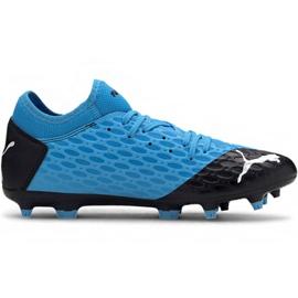Scarpe da calcio Puma Future 5.4 Fg Ag M 105785 01 blu