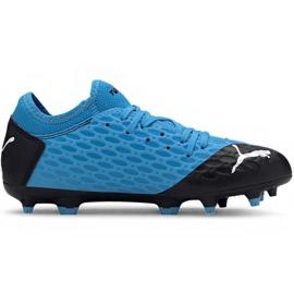 Scarpe da calcio Puma Future 5.4 Fg Ag Jr 105810 01 blu