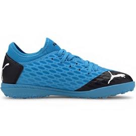 Scarpe da calcio Puma Future 5.4 Tt Jr 105813 01 blu blu