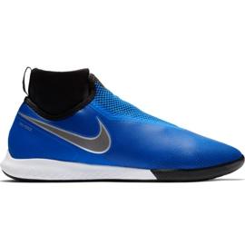 Scarpe da calcio Nike React Phantom Vsn Pro Df Ic M AO3276 400 blu