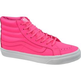Scarpe Vans Sk8-Hi Slim W VA32R2MW4 rosa