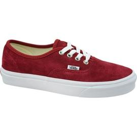 Scarpe Vans Authentic W VN0A38EMU5M1 rosso
