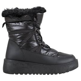 Bella Paris Stivali da neve alla moda nero