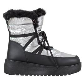 Bella Paris Stivali da neve alla moda grigio