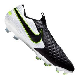 Scarpe da calcio Nike Legend 8 Elite Fg M AT5293-007 bianco, nero nero