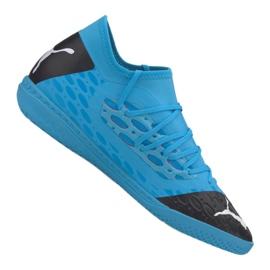 Scarpe indoor Puma Future 5.3 Netfit It M 105799-01 blu blu