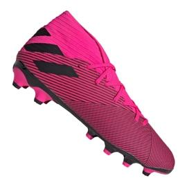 Scarpe Adidas Nemeziz 19.3 Mg M 024 EF8024 rosa porpora