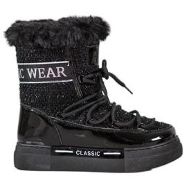 Bella Paris Stivali da neve alla moda classici nero