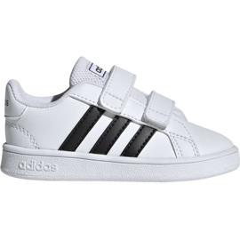 Scarpe Adidas Grand Court I Jr EF0118 bianco