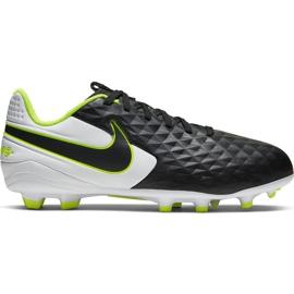 Scarpe da calcio Nike Tiempo Legend 8 Academy FG / MG Jr AT5732-007 nero