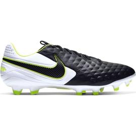 Scarpe da calcio Nike Tiempo Legend 8 Pro Fg M AT6133 007 bianco, nero, verde