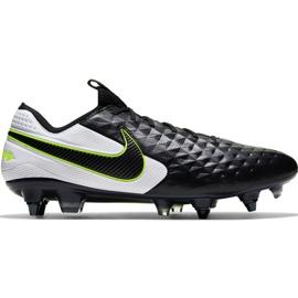 Scarpe da calcio Nike Tiempo Legend 8 Elite Sg Pro Ac M AT5900 007 bianco, nero, verde