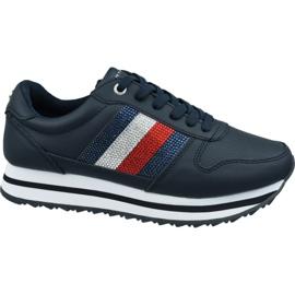 Tommy Hilfiger Tommy Retro Crystal Sneaker W FW0FW04683 Cki marina