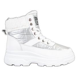 Bella Paris Sneakers con montone bianco