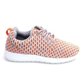 Sneaker da corsa sportiva arancione Roshe KA537
