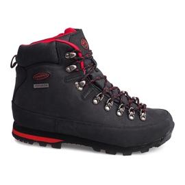 Scarpe da trekking professionali 6540 nere nero