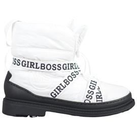 Vices Stivali da neve Girl Boss bianco