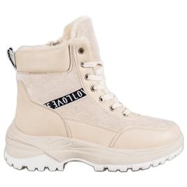 Bella Paris Sneakers isolate marrone