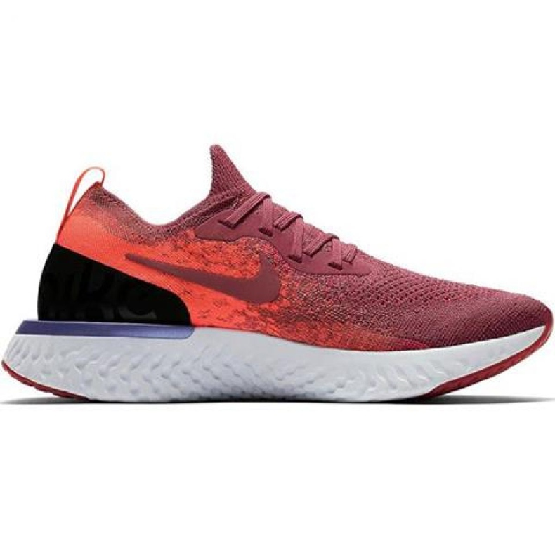 Scarpe da corsa Nike Epic React Flyknit W AQ0070 601 rosso