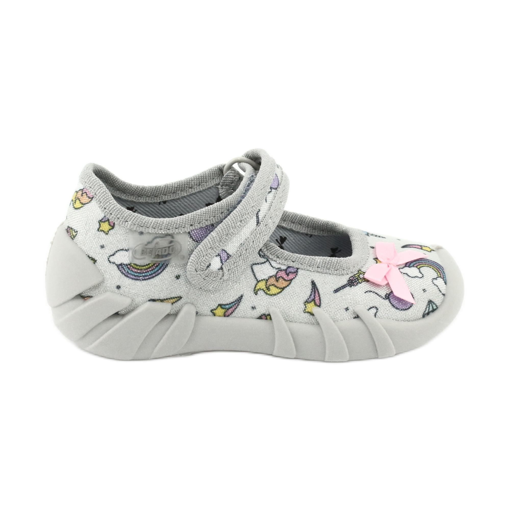 Scarpe per bambini Befado 109P199 grigio multicolore