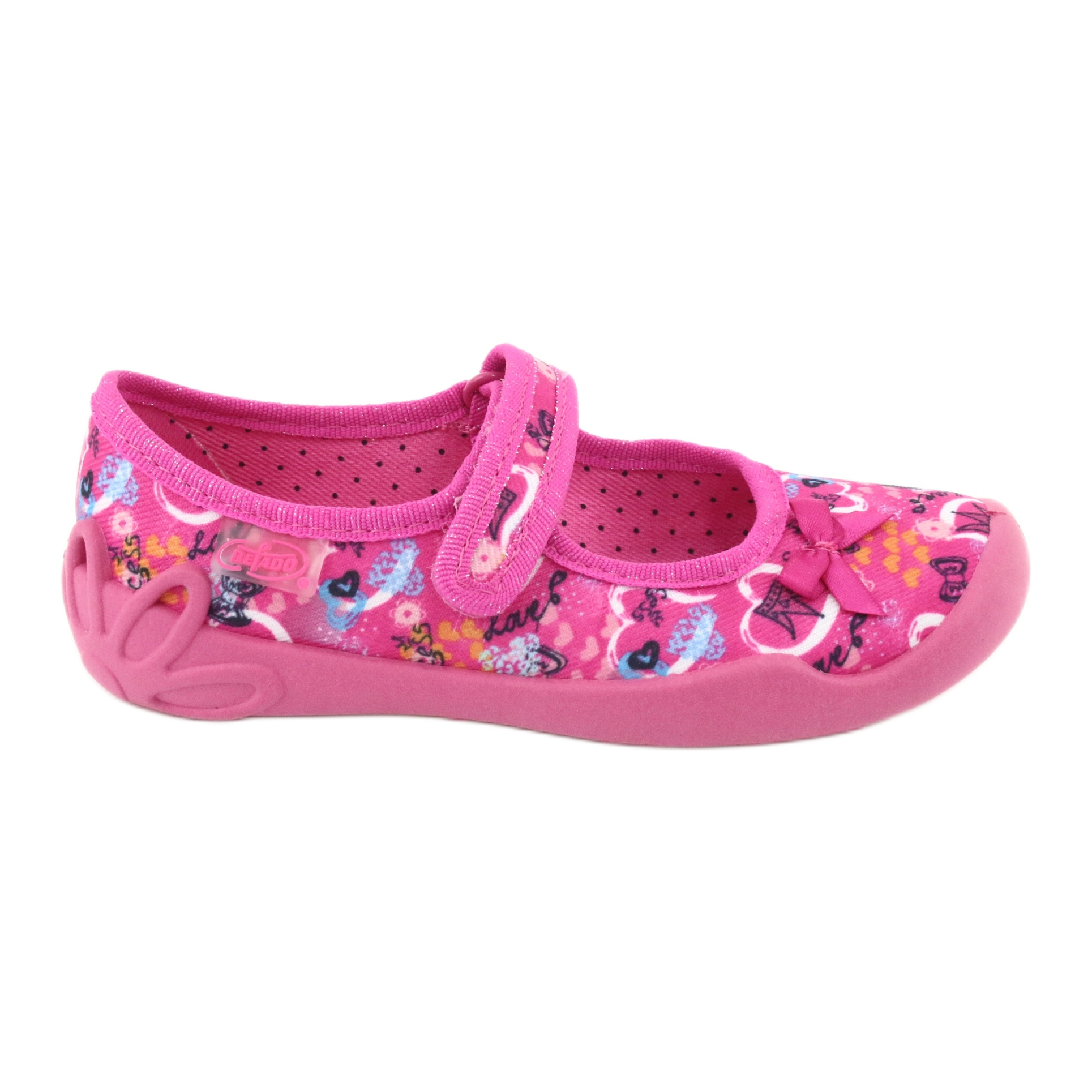 Scarpe per bambini Befado 114X358 rosa multicolore