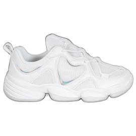Kylie Sneakers bianche alla moda bianco