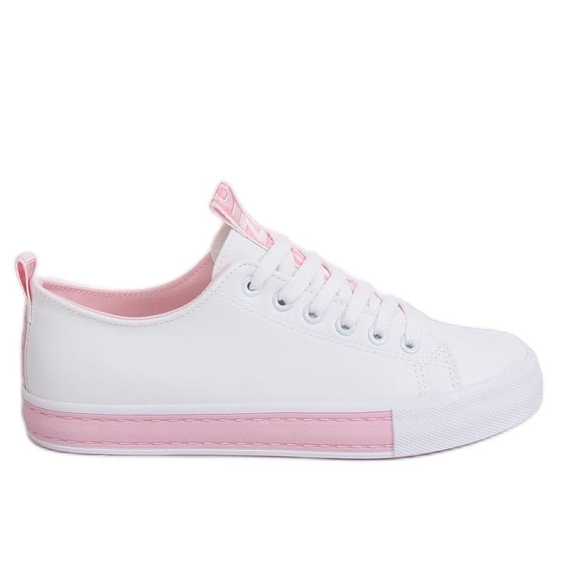 Sneakers da donna bianche CC-17 rosa