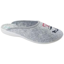 Pantofole in feltro Wake Up Adanex 25642 Grigio nero