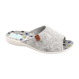 Pantofole in feltro Adanex 25494 grigio