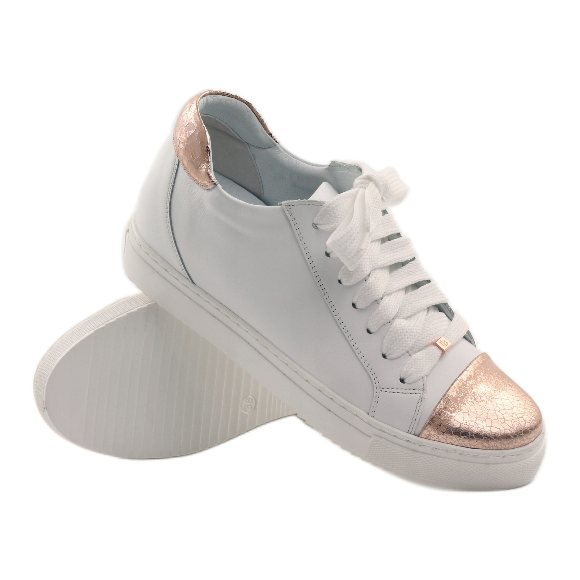 scarpe-sportive-da-donna-badura-bianche miniatura 3