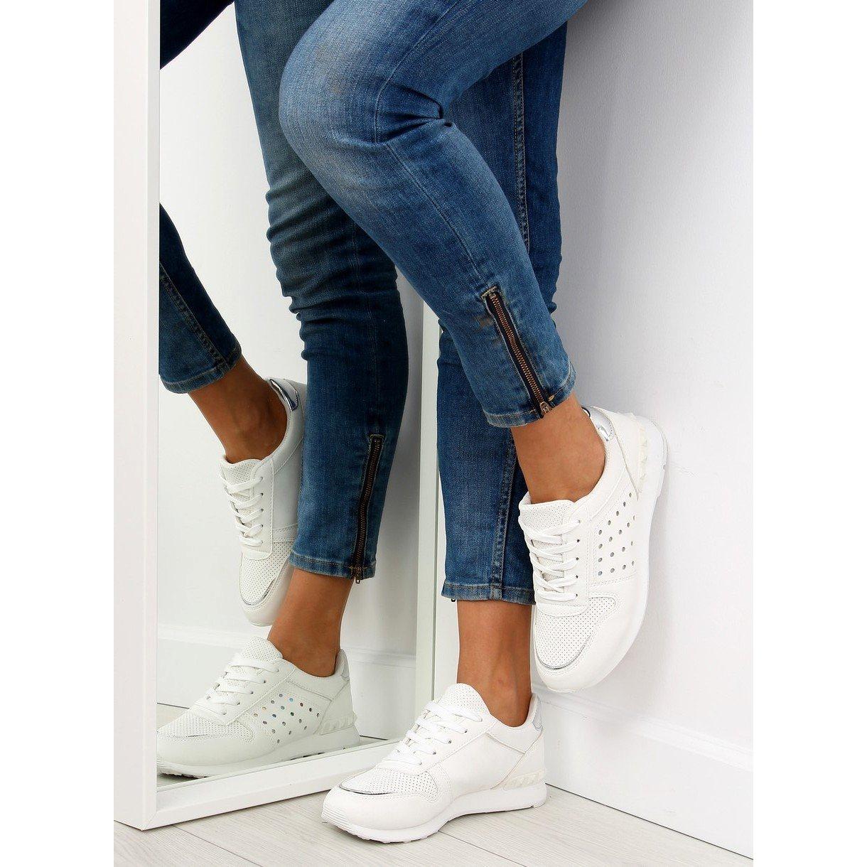 bianco-scarpe-sportive-bianche-da-donna-su12p-bianche miniatura 2