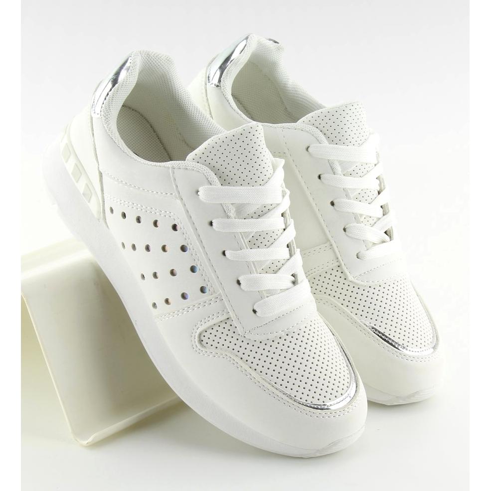 bianco-scarpe-sportive-bianche-da-donna-su12p-bianche miniatura 3