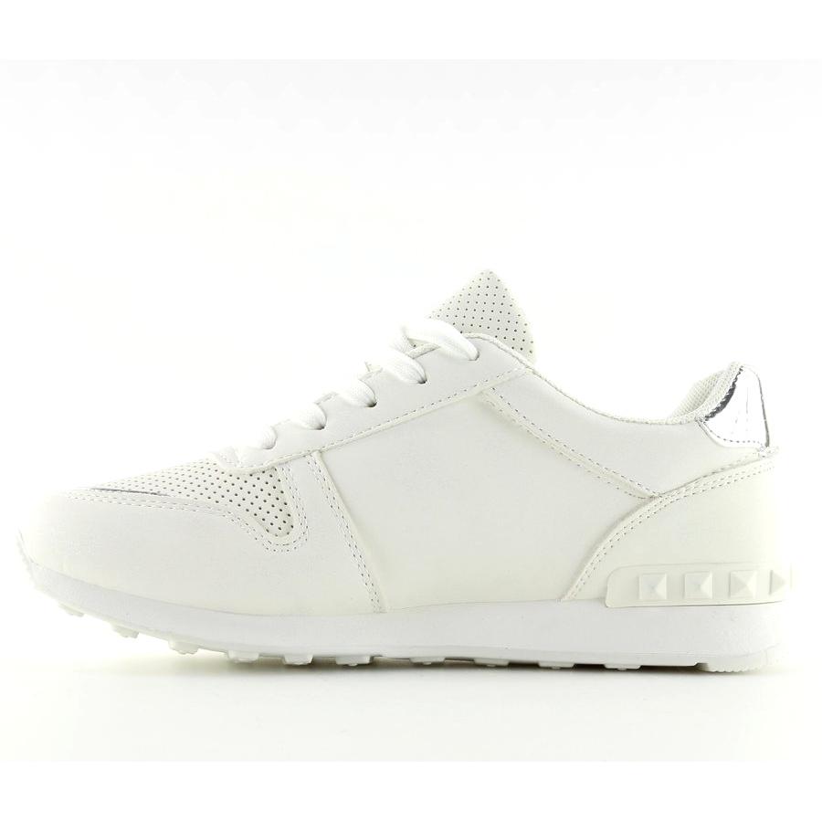 bianco-scarpe-sportive-bianche-da-donna-su12p-bianche miniatura 4