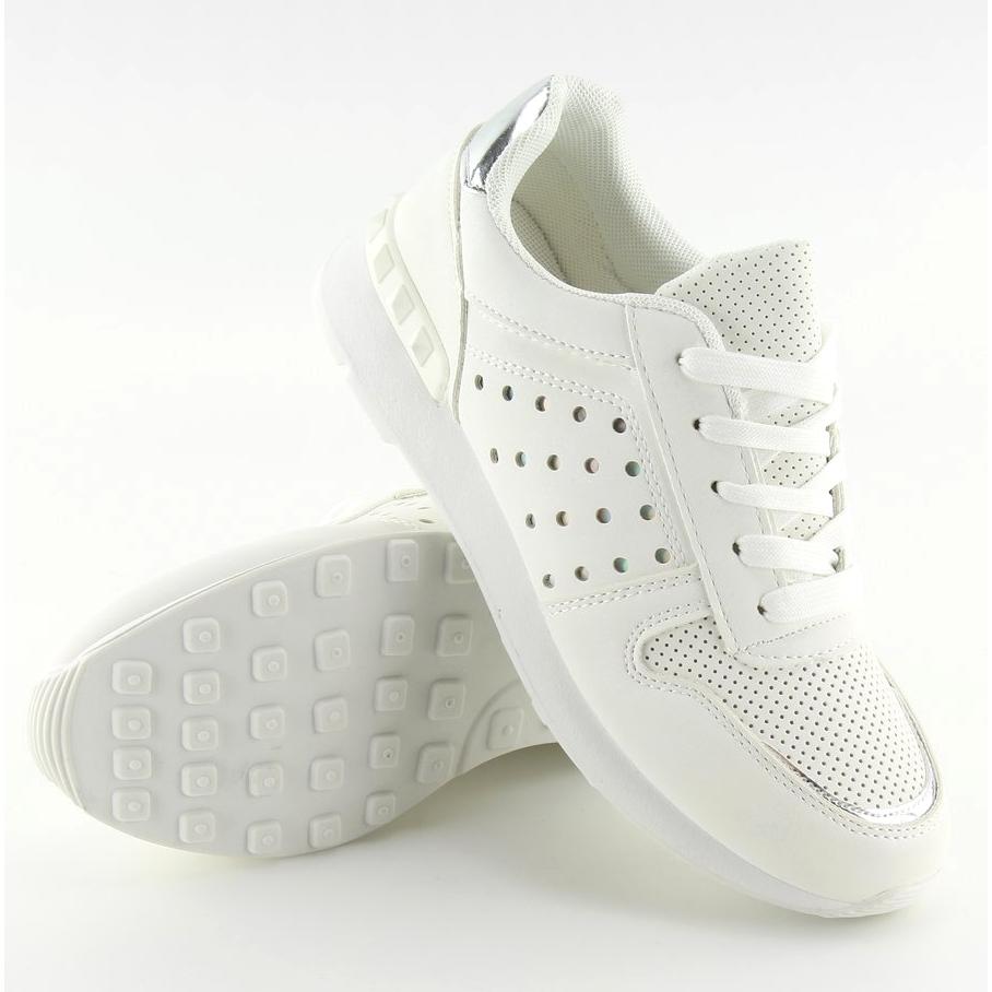 bianco-scarpe-sportive-bianche-da-donna-su12p-bianche miniatura 5