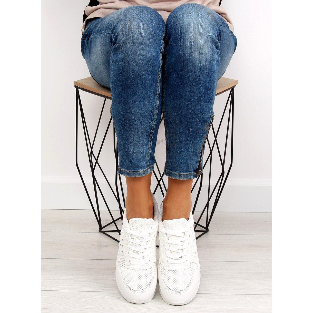 bianco-scarpe-sportive-bianche-da-donna-su12p-bianche miniatura 6