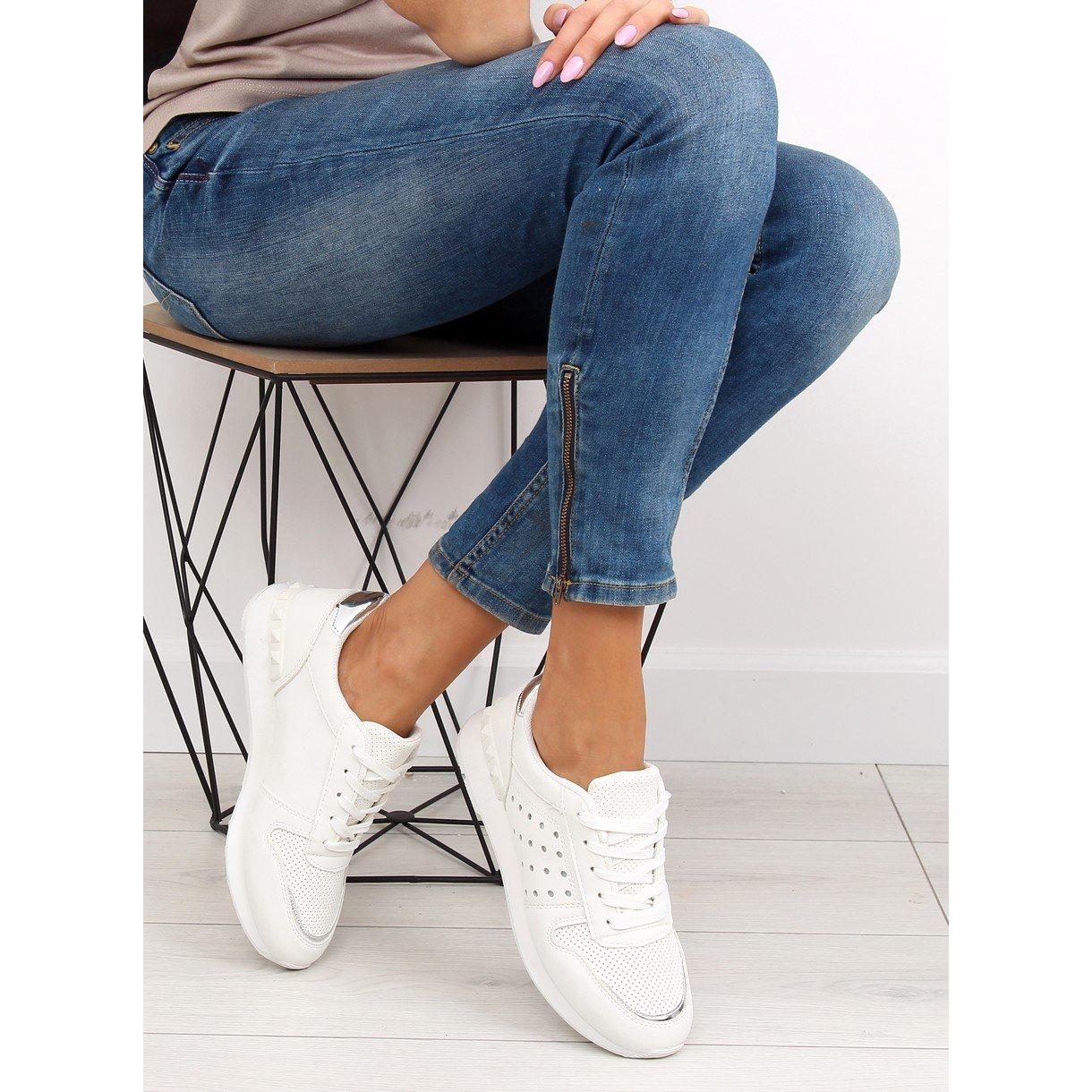 bianco-scarpe-sportive-bianche-da-donna-su12p-bianche miniatura 7
