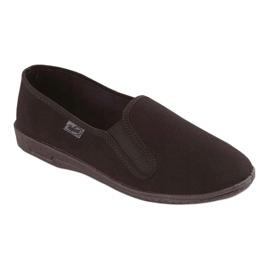 Befado scarpe da uomo in pvc 001M060 nero 1